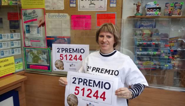 La responsable de la administración de la avenida de Zaragoza de Pamplona