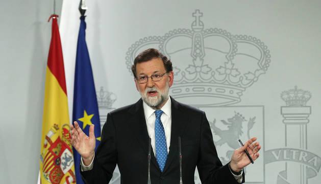 Rajoy, dispuesto a hablar