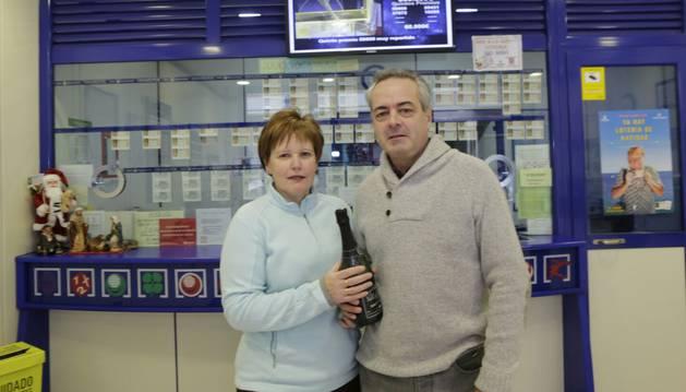 La lotería reparte suerte en Navarra