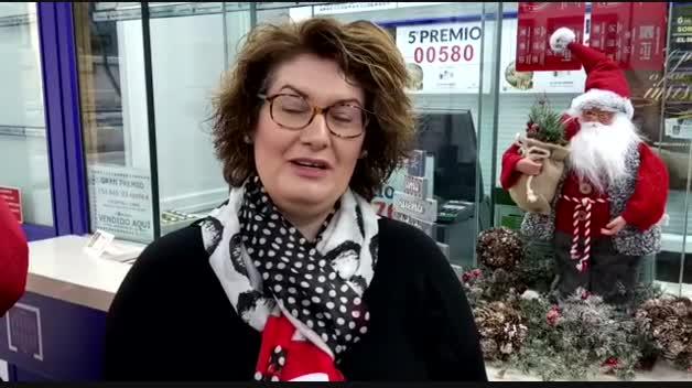 La administración de la plaza del Vínculo de Pamplona reparte otro quinto premio