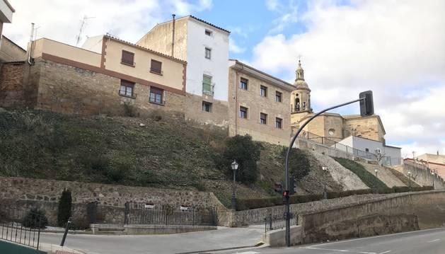 La ladera de la calle Molino, una de las inversiones previstas.