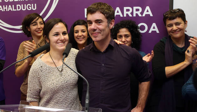 Podemos Navarra celebra el acuerdo del Convenio Económico