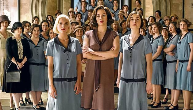 Imagen promocional de la primera temporada de 'Las chicas del cable'