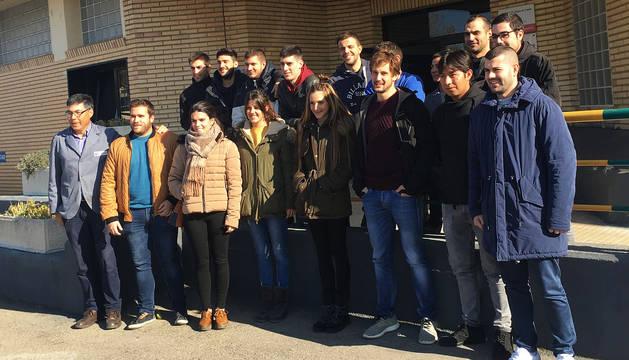 Estudiantes de Ingeniería en Diseño Mecánico de la UPNA visitan la empresa Tasubinsa
