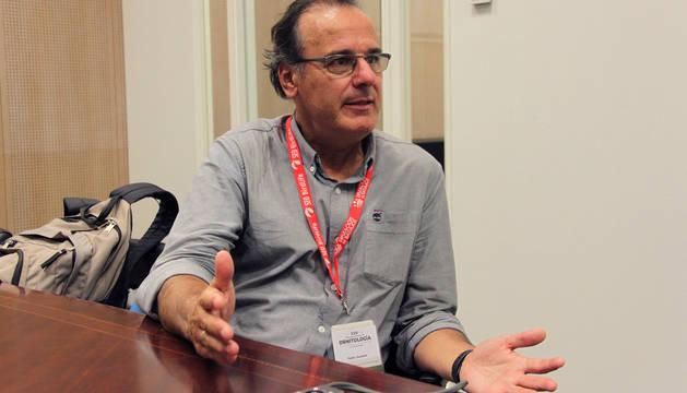 Pedro Jordano, investigador de la Estación Biológica de Doñana.