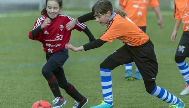 Primera jornada de la competición disputada en las instalaciones del C.A. Osasuna.