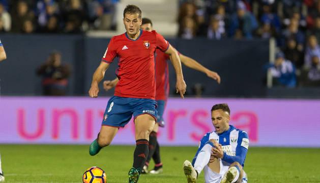 Foto de Robert Ibáñez se lesionó de gravedad en la rodilla derecha el año pasado con el Leganés contra Osasuna.