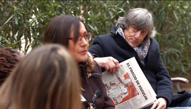 Enrique Martín, en el spot de la campaña de abonos del Albacete.