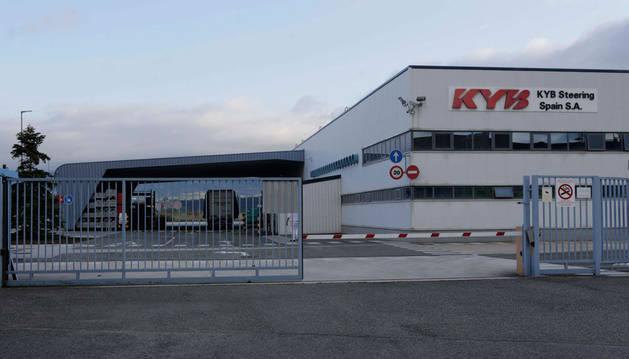 Imagen exterior de archivo de la fábrica de KSS, de Kayaba, en Orkoien.