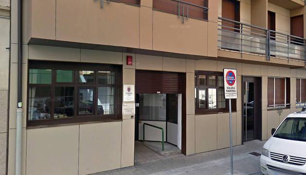 Exterior de la unidad de barrio del segundo Ensanche, en la calle Padre Calatayud.
