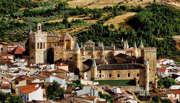 La localidad de Guadalupe, elegida a final de noviembre la primera de las 7 Maravillas Rurales de España.