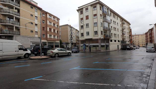 Cruce de la calle Río Urrobi con Manuel de Falla, en La Milagrosa.