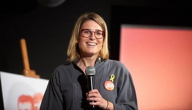 La jefa de campaña y diputada electa de Junts per Catalunya, Elsa Artadi