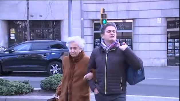 Marta Ferrusola y Oriol Pujol visitan a Jordi Pujol