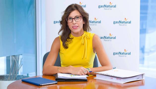 Imagen de María Miró, directora de Gas Navarra.