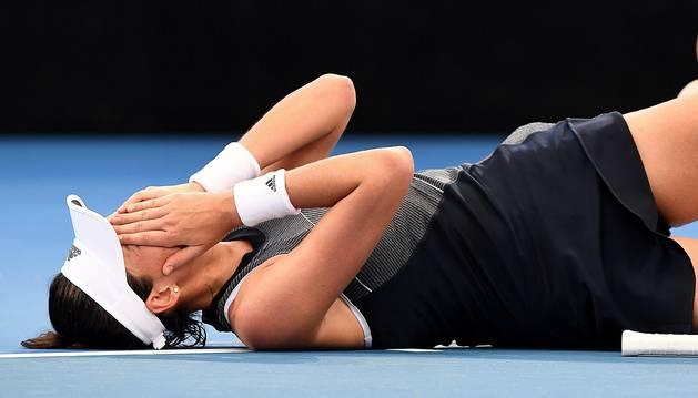 Garbiñe Muguruza se retira del torneo de Brisbane
