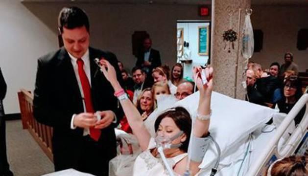 La foto de la boda