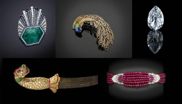Una muestra de las joyas expuestas