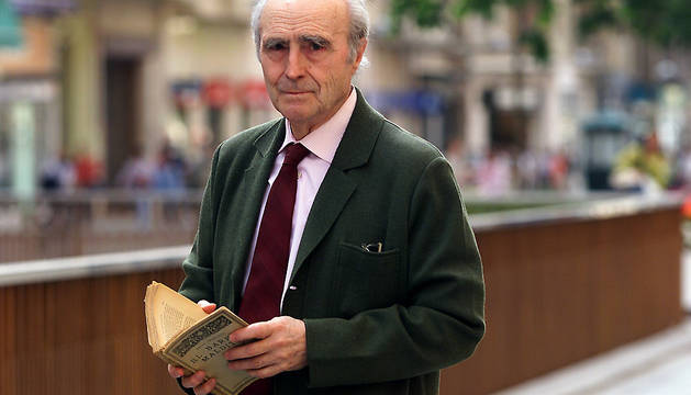 Miguel Urabayen, en una imagen de 2002.