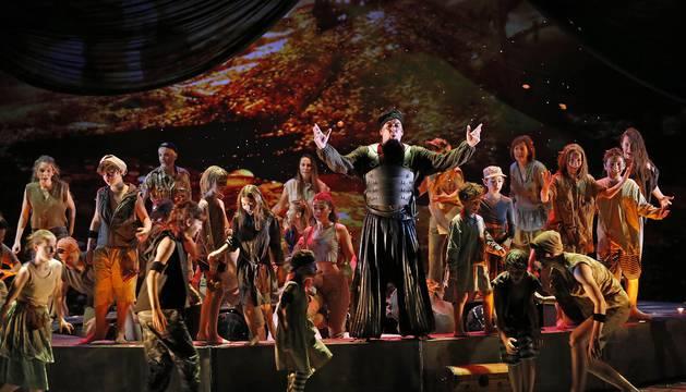 El Teatro de la Maestranza de Sevilla y el Teatro Arriaga de Bilbao han sido los escenarios de la programación infantil navideña de la OCN de este año.