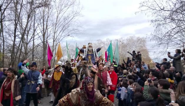 Directo | Los Reyes Magos ya están en Pamplona