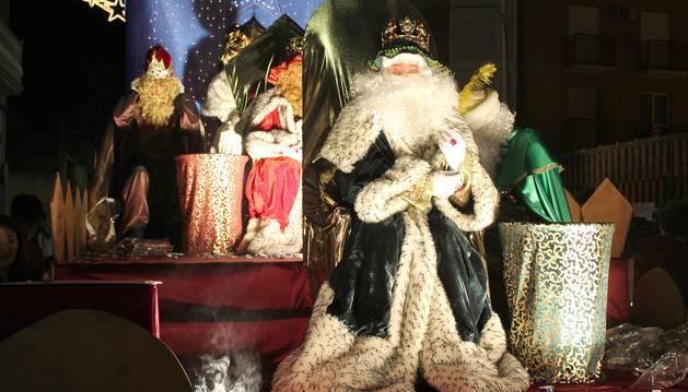 Los Reyes Magos llenaron de ilusión las calles de Navarra