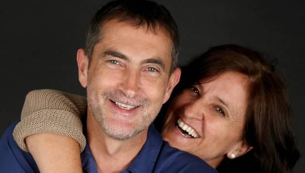 Carlos Goñi y Pilar Guembe.