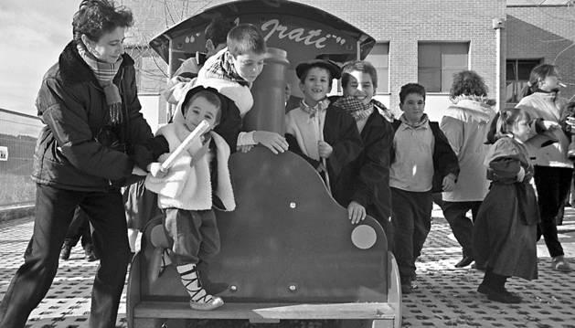 Inauguración oficial del parque infantil del colegio Eulza