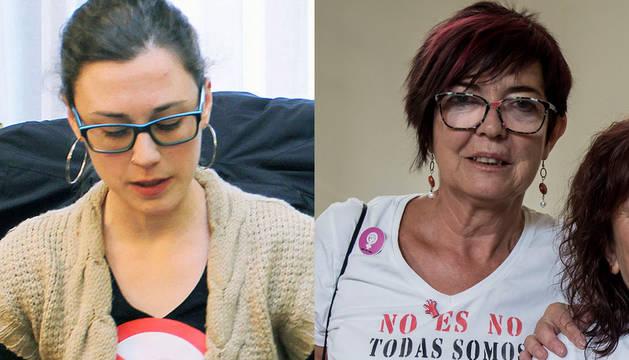 Laura Berro y Tere Saez