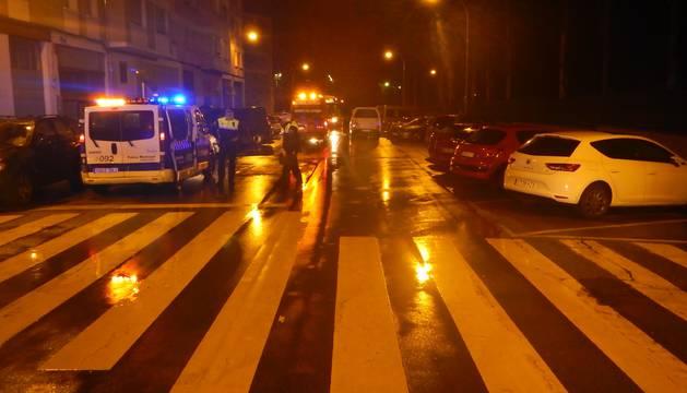 Fallece un anciano tras ser atropellado por un conductor ebrio en Pamplona