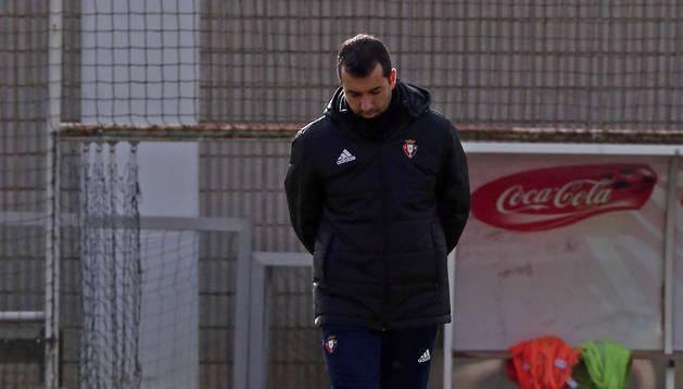 Diego Martínez, entrenador de Osasuna.