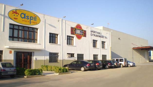 La empresa Apex, en Ribaforada.