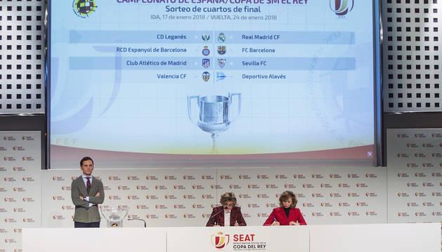 Derbis madrileño y catalán en cuartos de final de la Copa del Rey