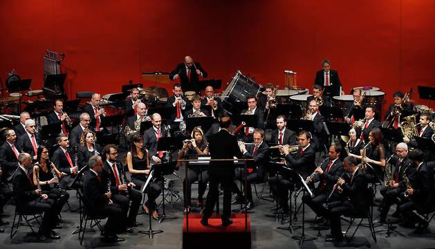 Concierto de La Pamplonesa en el Teatro Gayarre en octubre de 2017.