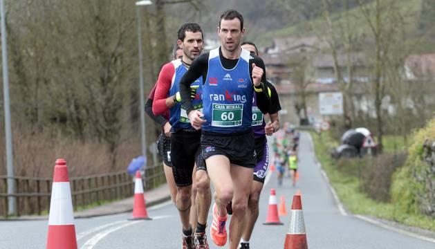 Disputa de la prueba este domingo 14 de enero en Betelu sobre un recorrido de 7,7 kilómetros.