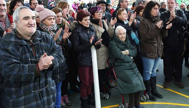 Burlada se vuelca en el homenaje a Blanca Marqués, asesinada hace un año