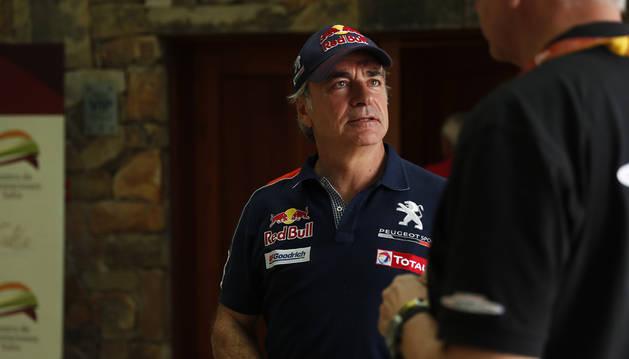 Carlos Sainz, penalizado con 10 minutos en el Dakar