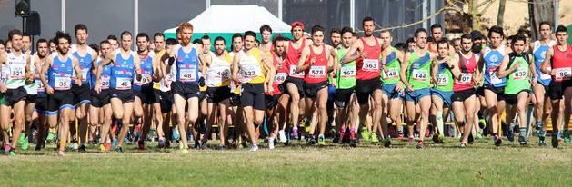 Imágenes del Campeonato Navarro de Cross Corto 2018 en Estella