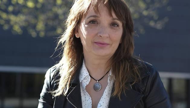 Susana Rodríguez Lezaun, este año, con su segunda novela.