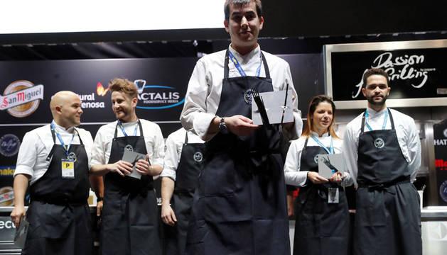 Nanín Pérez, de Alicante, elegido Cocinero Revelación en Madrid Fusión