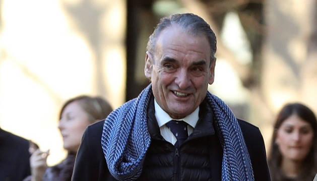 Imagen del expresidente de Banesto Mario Conde a su llegada a la Audiencia Nacional.