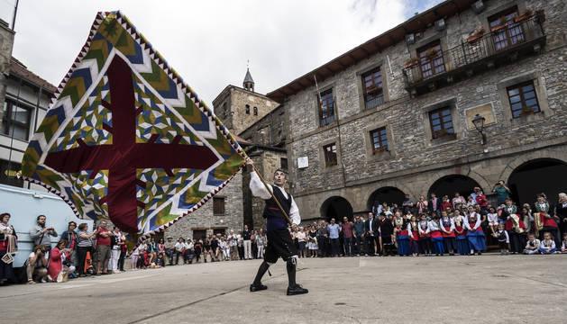 Isaba, durante las fiestas de Santiago de 2017. La localidad es la locomotora económica del valle.