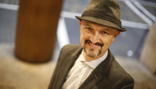 Mariano Chóliz, catedrático de Psicología de la Universidad de Valencia, el jueves en Pamplona, donde impartió una conferencia.