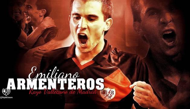 El Rayo da la bienvenida a Armenteros en las redes sociales.