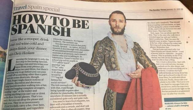 El artículo de The Times sobre cómo ser español
