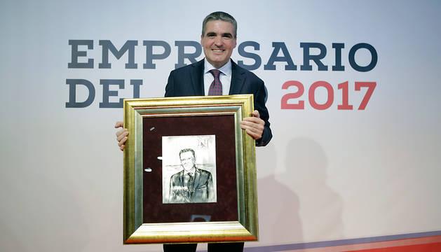 Benito Jiménez Cambra, Empresario de 2017 de Navarra.