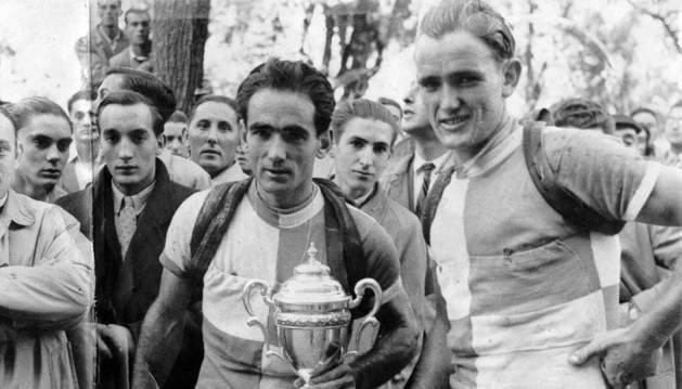 Félix y Hortensio Vidaurreta en una imagen de archivo.