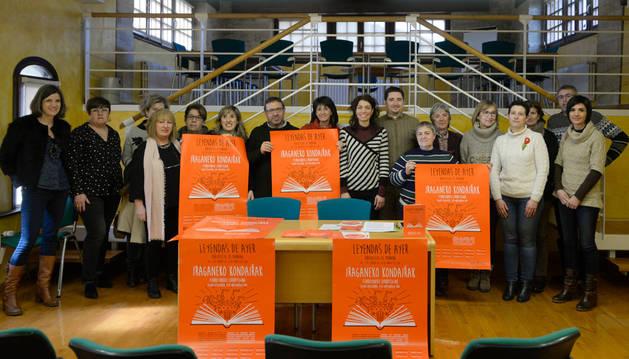 Imagen de bibliotecarios y bibliotecarias de las localidades participantes en el proyecto asistieron a la presentación de la iniciativa en Tafalla.