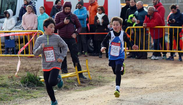 Galería de imágenes de la carrera celebrada este sábado en Lodosa.