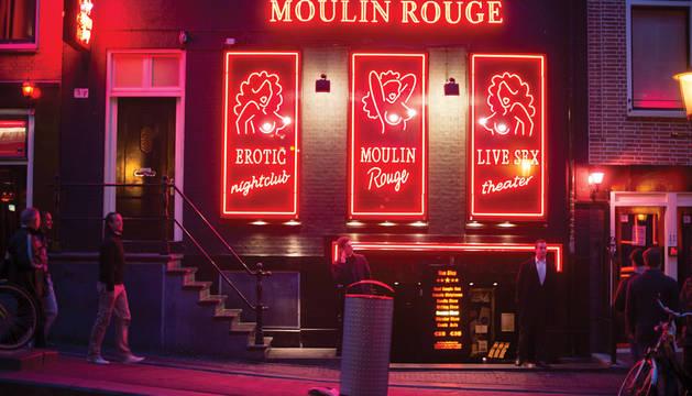 Un establecimiento de prostitución en el Barrio Rojo